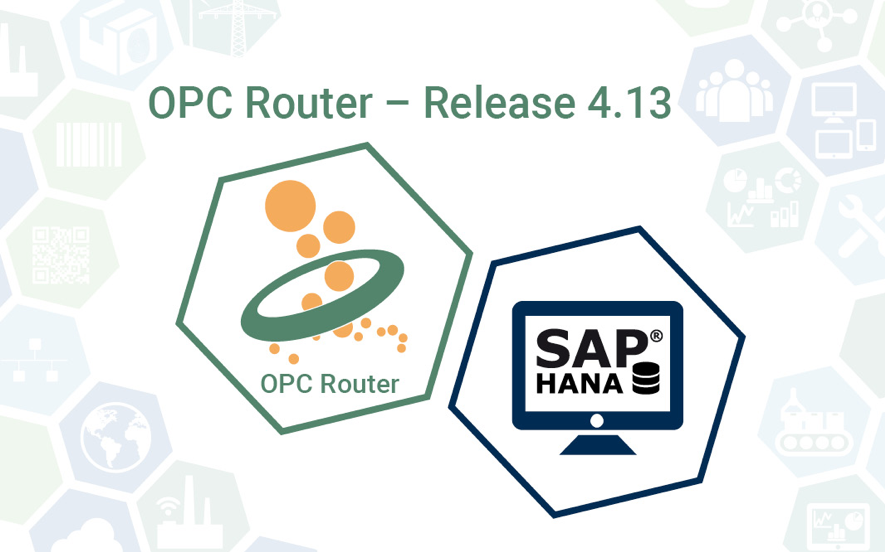 OPC Router Release y SAP Hana